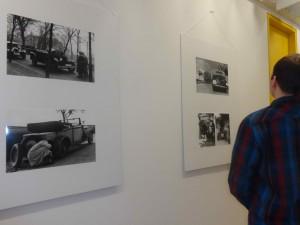 Fortbewegungsmittel aller Art standen im Mittelpunkt der Fotoausstellung des IfZ-Archivs.