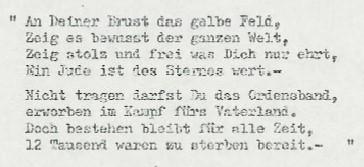 Stolperstein in Erinnerung an Hermine Lesser – Teilnachlass im Archiv des Instituts für Zeitgeschichte