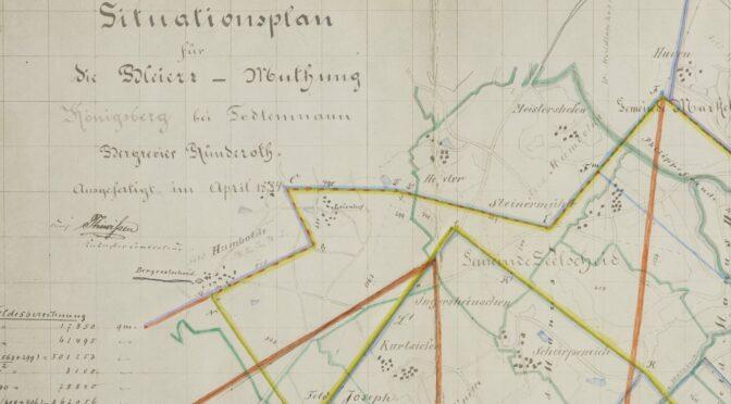 Zugänge im montan.dok/Bergbau-Archiv Bochum: Unterlagen der Gewerkschaft Königsberg, 1885-1951